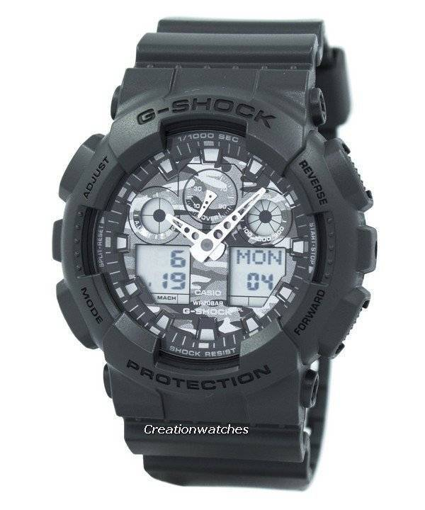 90eb4ca65980 Casio G-Shock GA-100CF-8A GA100CF-8A Analog Digital 200M Men s Watch