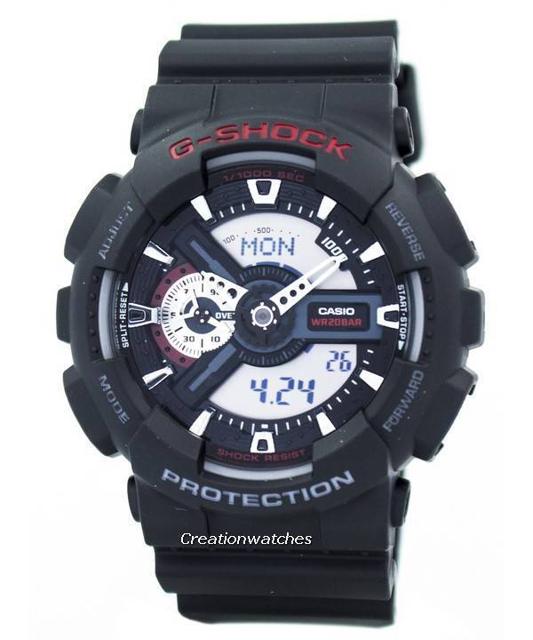 Casio G-Shock World Time Analog Digital GA-110-1A GA110-1A Men s Watch 68645320c3ab