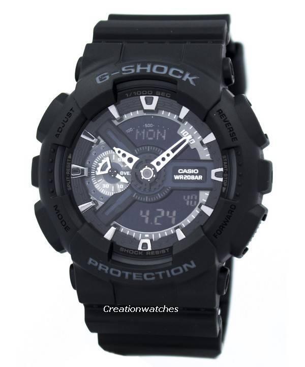 a0be400cd77 Relógio Casio G-Shock GA-110-1B GA-110-1 masculino pt