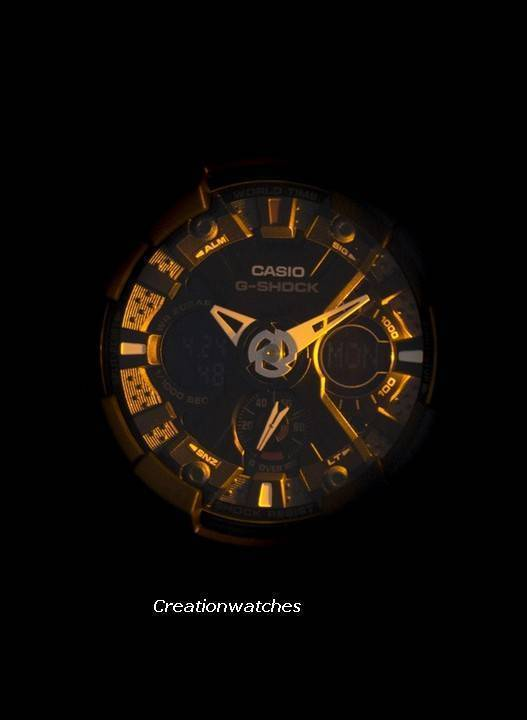 96102ee6f95 Relógio Casio G-Shock GA-120-1A preto Analógico Digital masculino pt
