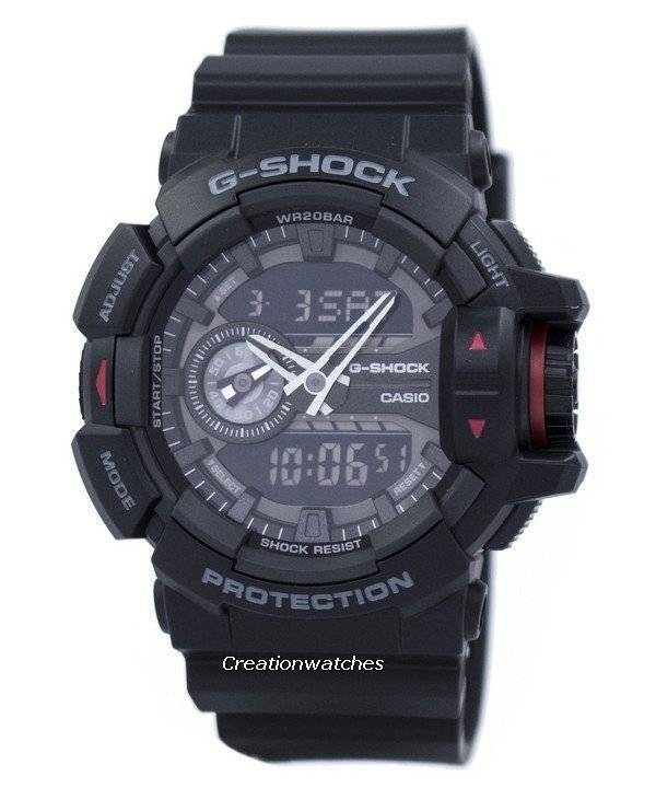6c060d440d9b Casio G-Shock Analog Digital GA-400-1B GA400-1B Men s Watch