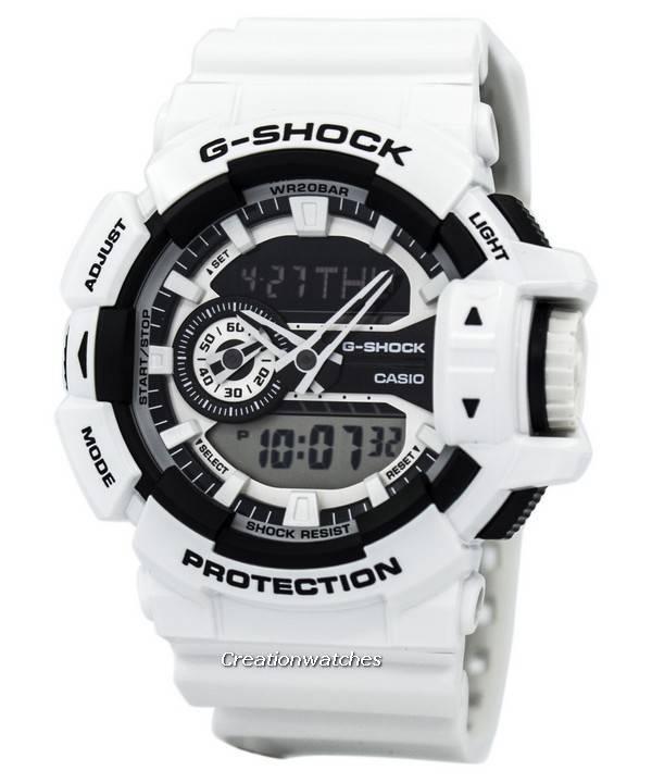 7 Casio Homme Analog G Digital 200m 400 Montre Ga A Shock TPZXuiOk