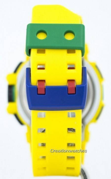 ce201de75a8 Casio G-Shock Analógico-Digital multi cor relógio 200 M GA-400-9A ...