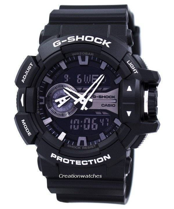71b18d02748 Casio G-Shock Analog Digital World Time GA-400GB-1A GA400GB-1A Men s Watch