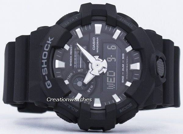 Casio G-Shock Analog Digital GA-700-1B GA700-1B Men's Watch - Click Image to Close