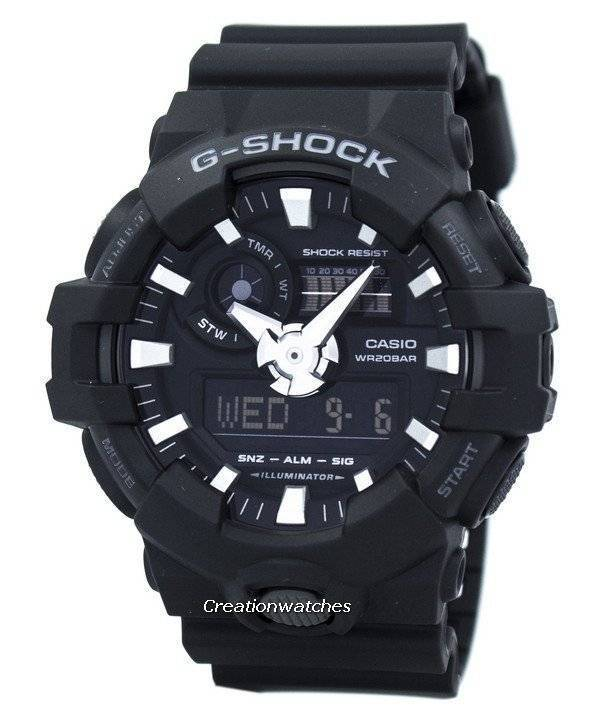Casio G-Shock Analog Digital GA-700-1B GA700-1B Men's Watch - Click Image to Close