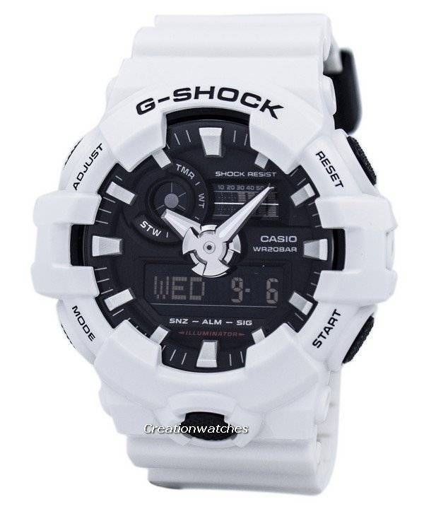 cf56f48fafe Casio G-Shock Analógico Digital relógio 200m GA-700-7A masculino pt