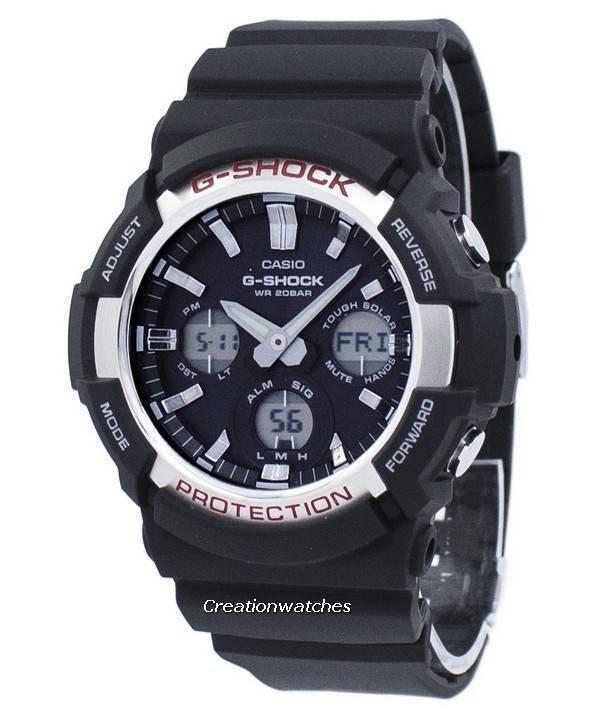 4bf34e8e6a Casio G-Shock Shock Resistant Tough Solar GAS-100-1A GAS100-1A Men's Watch