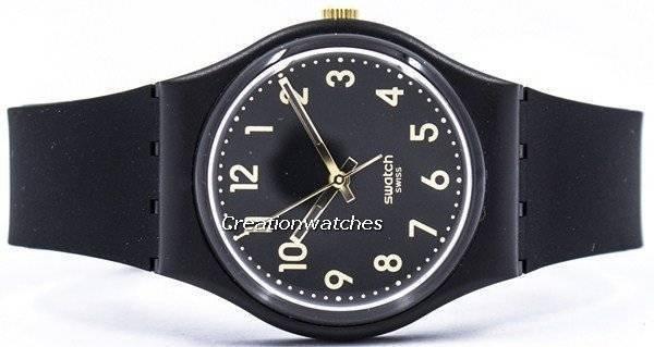 1b5f5491732 Swatch originais Tac dourado quartzo suíço GB274 Unisex Watch pt