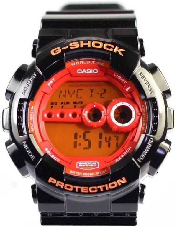 Casio G-Shock Sports World Time GD-100HC-1D Mens Watch 63268c4e4b35