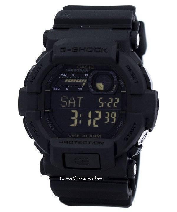 Casio G-Shock Digital GD-350-1B GD350-1B Men's Watch - Click Image to Close