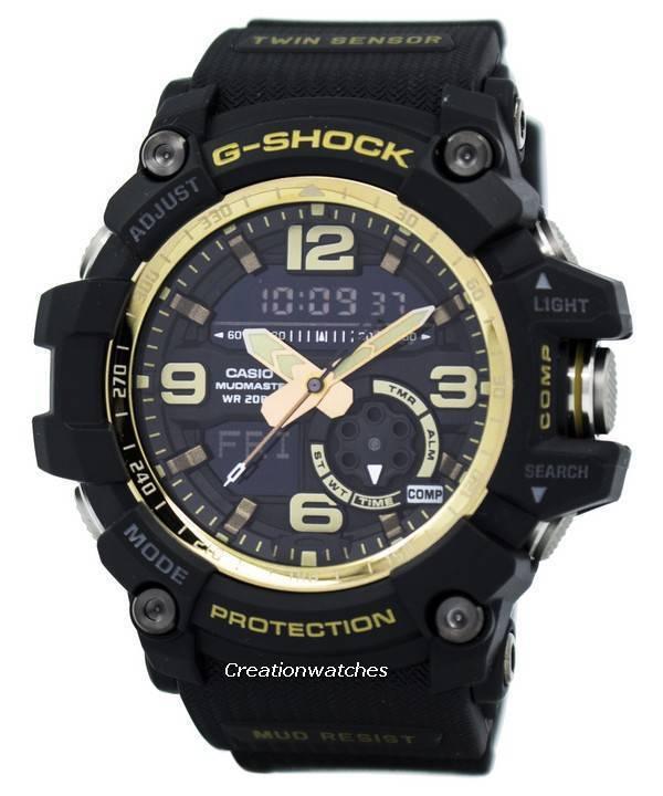 1000gb Gg1000gb 1a Digital G Hora Gg Mens Casio Mudmaster Reloj Analógico Watch Mundial Shock bfvYyI76g