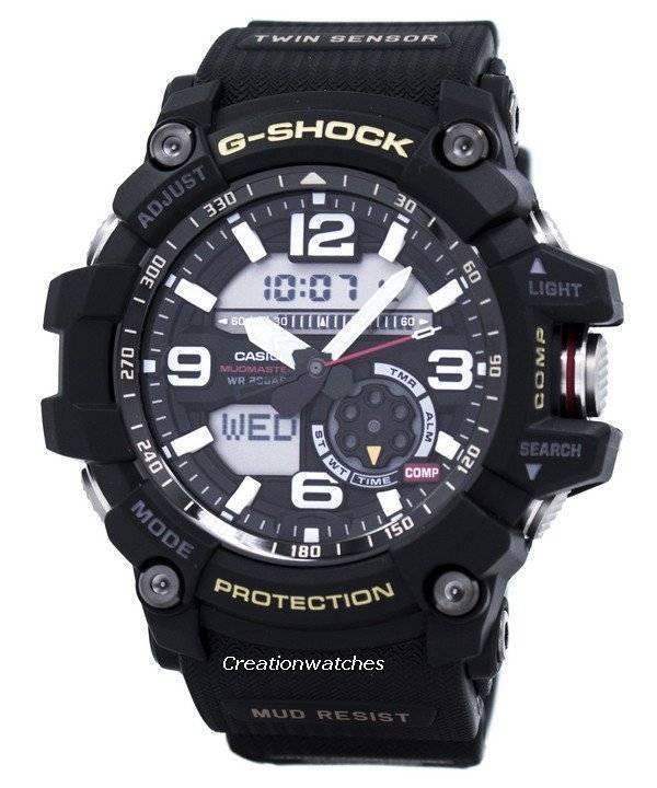 86a878a6ad1ea Reloj Casio G-Shock MUDMASTER Twin Sensor 200 m. GG-1000-1A de los ...