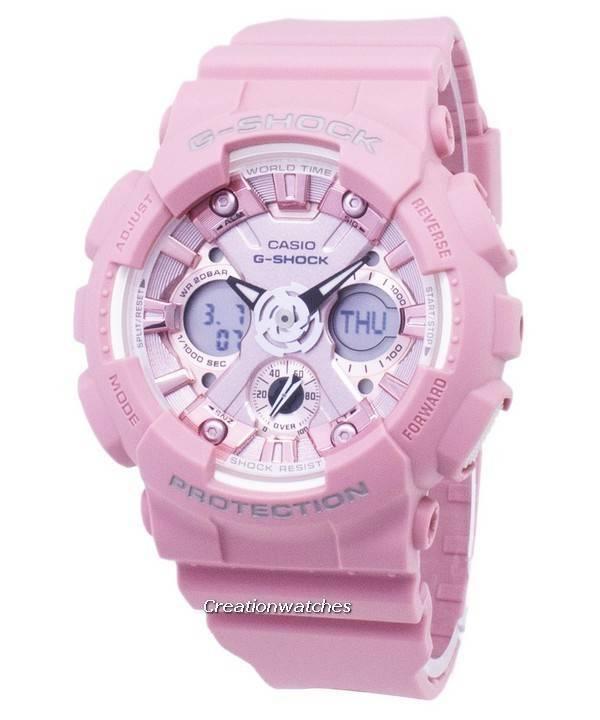 Series Para G Gma Digital S Mujer 200m Casio Analógico S120dp Shock Gmas120dp Reloj 4a DY2WHIE9