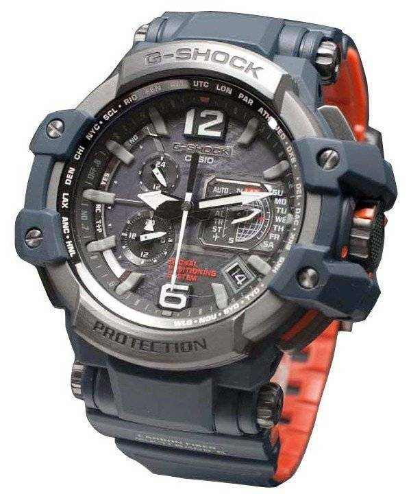 ddd0a0b614f Casio G-Shock Gravitymaster atômica GPS híbrido Wave Ceptor GPW-1000-2AJF