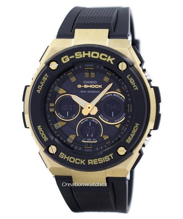 1129195db788 Casio G-Shock Tough Solar Shock Resistant Alarm GST-S300G-1A9 Men s Watch