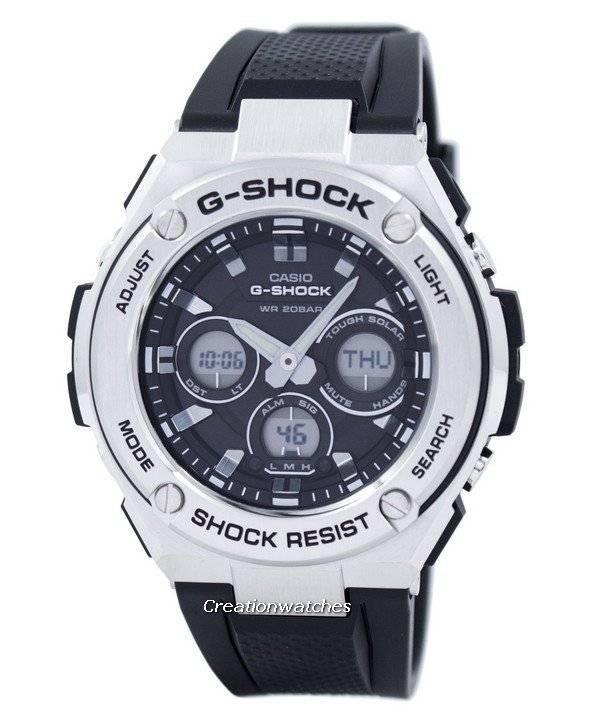 Casio G Shock G Steel Tough Solar Analog Digital Gst S310 1adr