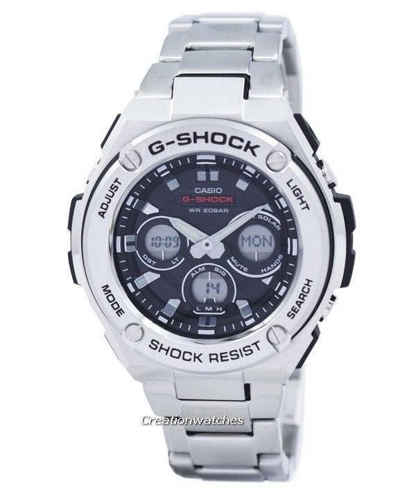 2b30f49814b Casio G-Shock G-Steel Tough Solar Analog Digital GST-S310D-1A GSTS310D-1A  Men s Watch