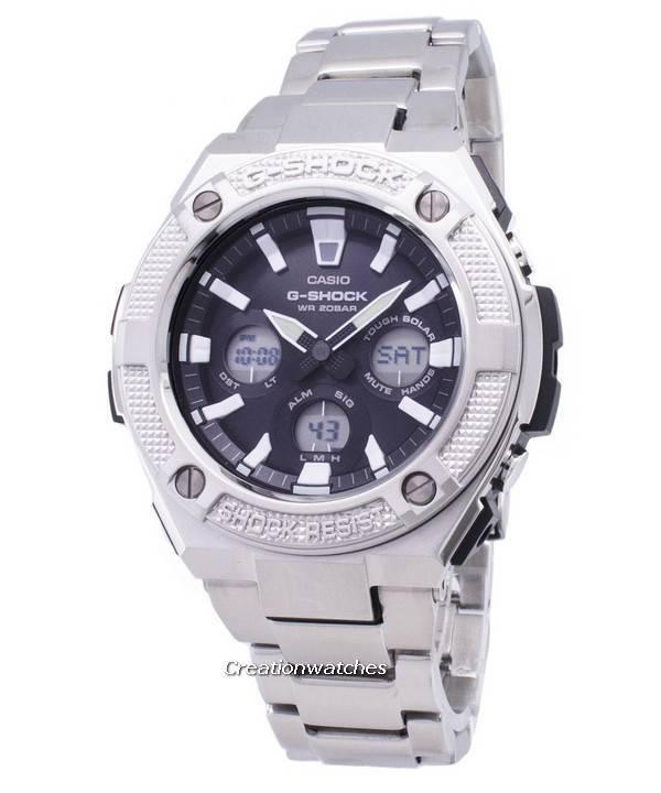 Reloj Casio Analógico Shock Hombres S330d Gsts330d Para Iluminador 200m G 1a Gst Digital ZOPXuki