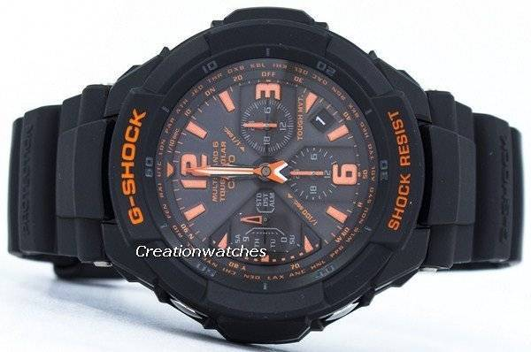 low priced 534be a6a9e Casio G-Shock Multi Band 6 Tough Solar World Time GW-3000B-1A Mens Watch