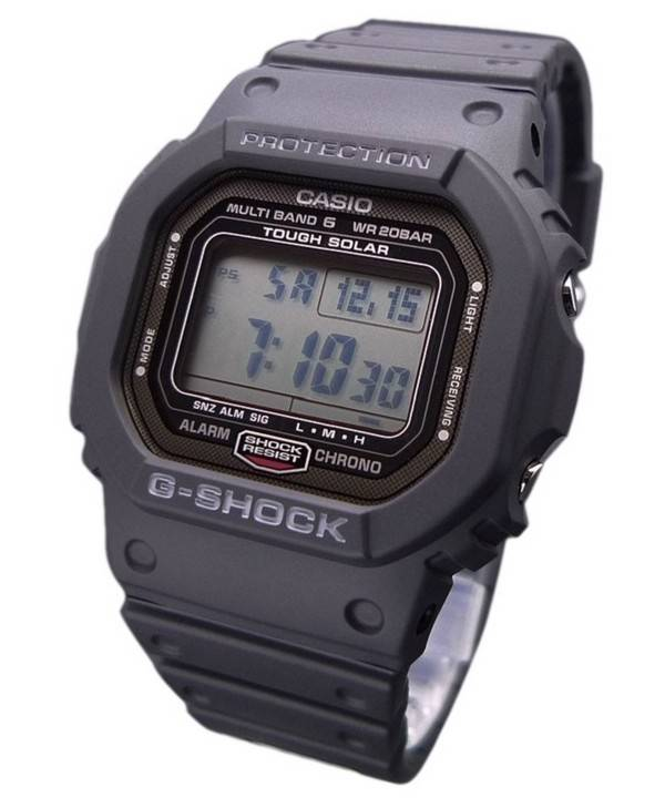 finest selection 24c42 1edb3 CASIO G shock Radio Atomic Controlled Japan Made GW-5000-1JF Mens Watch