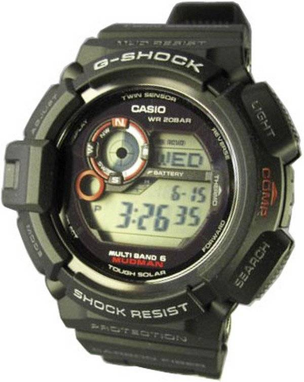 58aafdc9120c Reloj para hombre Casio G-Shock Mudman GW-9300-1JF GW9300-1JF
