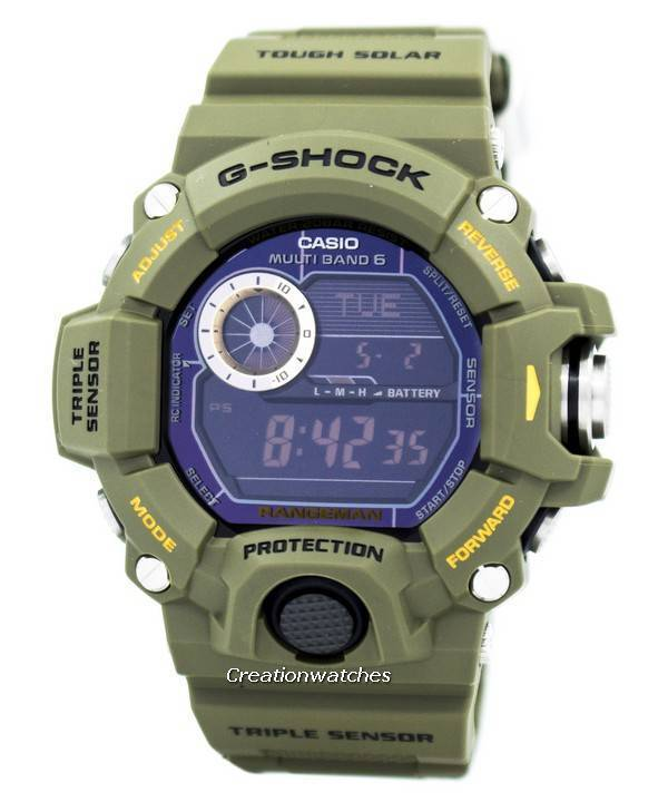 1e193fd7f661 Casio G-Shock Rangeman Multi-Band Atomic GW-9400-3 GW9400-3 Men s Watch
