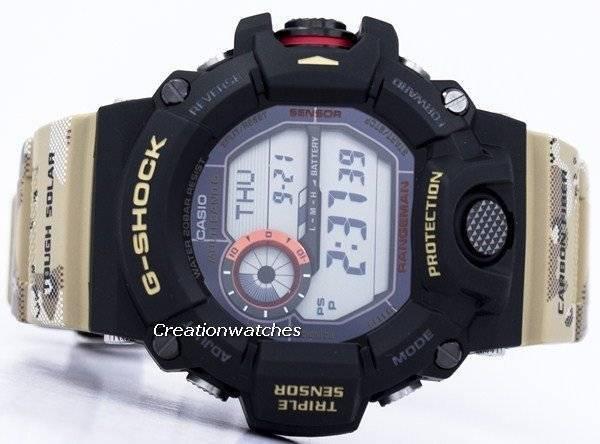 313ea35c82993 Montre pour homme Casio G-Shock MULTIBAND 6 Tough Solar GW-9400DCJ-1