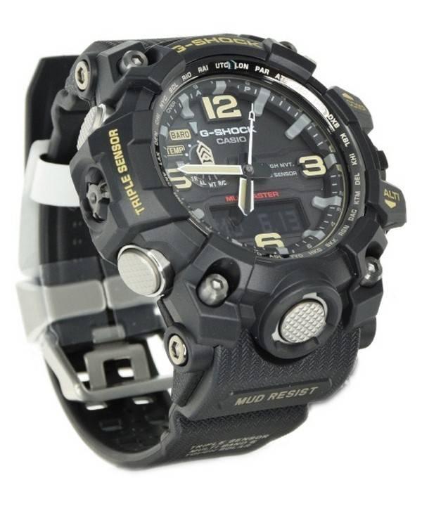 super populaire 1fcd2 88d5f Montre pour homme Casio G-Shock Mudmaster à triple capteur GWG-1000-1AJF  GWG1000-1AJF