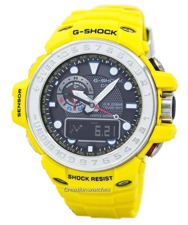 2656c5c2f52 Relógio Casio G-Shock Gulfmaster atômica GWN-1000-9A masculino pt