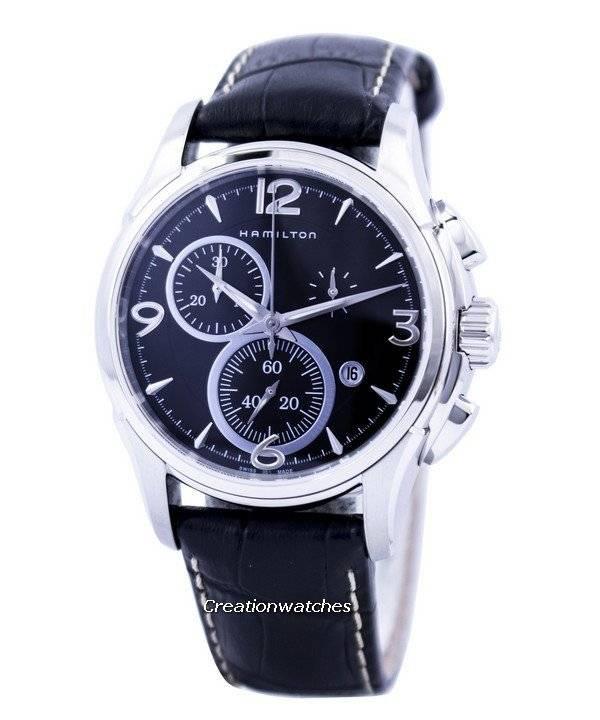 5d8283b95d6c Hamilton Jazzmaster cronógrafo cuarzo H32612735 reloj para hombre