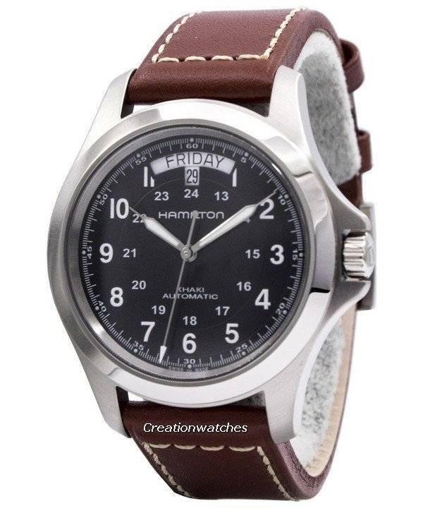 6b43514177c Relógio Hamilton Khaki King Automatic H64455533 masculino pt