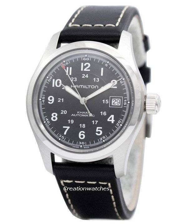 bd8465a5c4ed Hamilton Khaki Field Automatic H70455733 Men s Watch