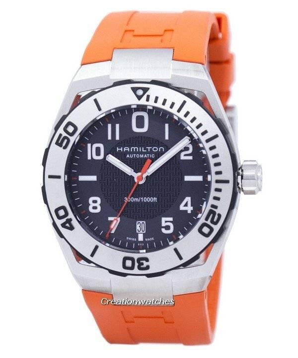 41af9a9c317 Relógio Hamilton Khaki submarino da Marinha H78615985 automático masculino
