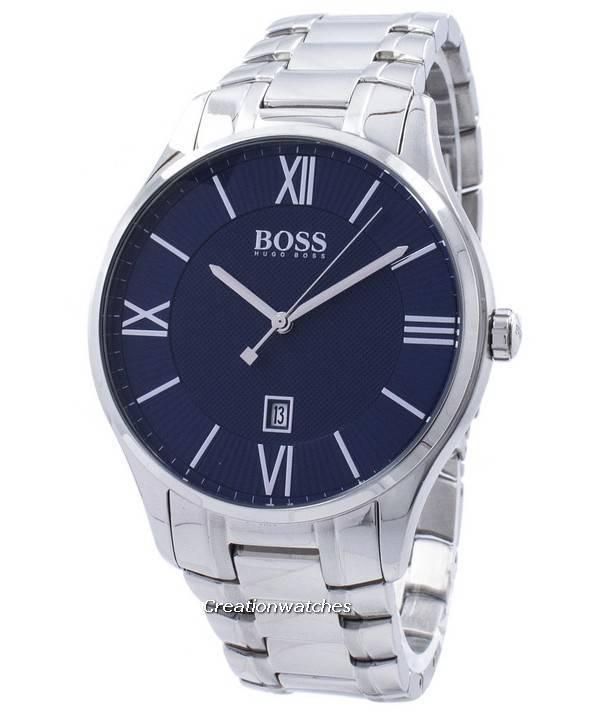 3a35b30d78d8 Hugo Boss gobernador Classic cuarzo 1513487 Watch de Men es