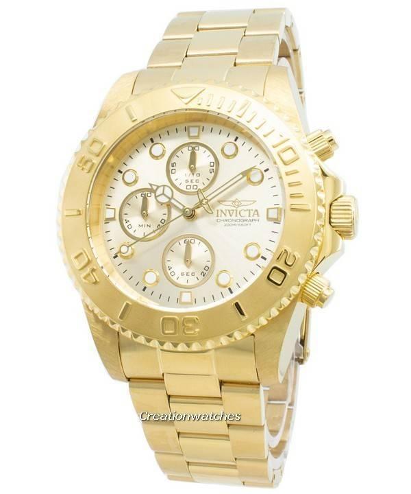 706d7652f Invicta Pro Diver Chronograph Quartz 200M 1774 Men's Watch