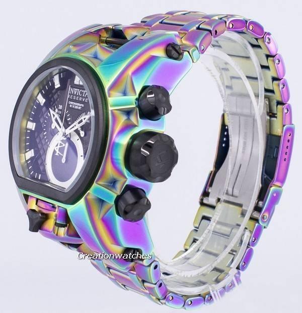 niño elegante y elegante gran descuento Reloj Invicta Reserve Collection 25212 cronógrafo de cuarzo, 200 m, para  hombre