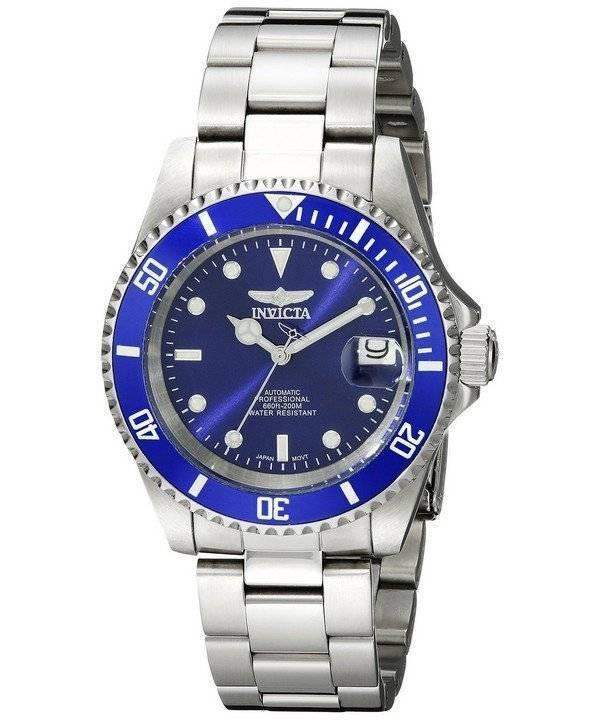 aeb35d28166 Reloj Invicta automático Pro Diver 200M esfera azul INV9094OB 9094OB de los  hombres