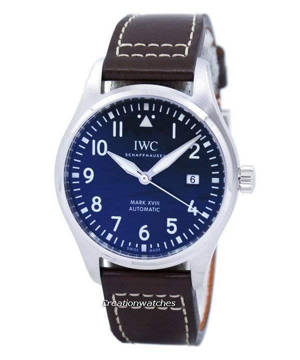 d73feb5554d Do IWC Schaffhausen piloto marcar relógio XVIII edição