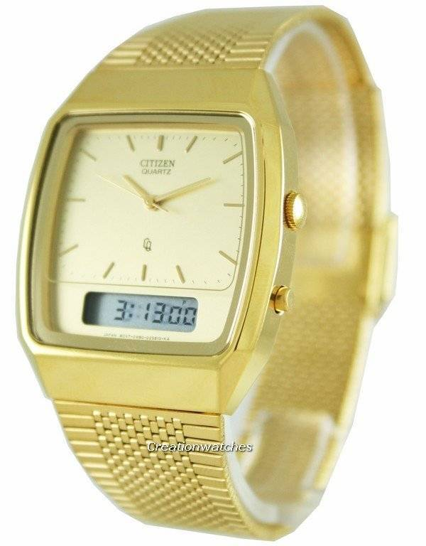 Boutique en ligne 5816c 091ce Citizen Analog-Digital Vintage Retro JM0512-57P Reloj para hombre