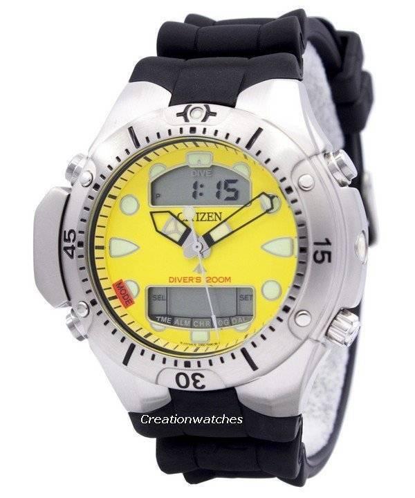 e43a63aa2696 Reloj para hombre Citizen Aqualand Promaster Diver s 200M JP1060-01X es