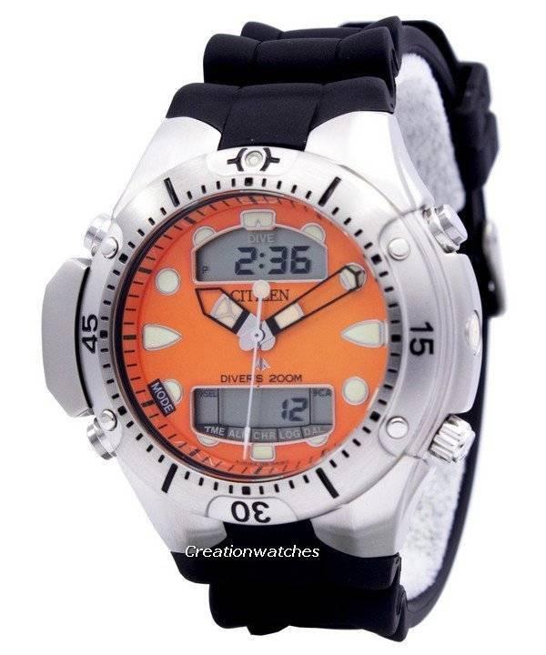 072a0d7d526 Citizen Promaster Aqualand mergulhador relógio JP1060-01Y pt