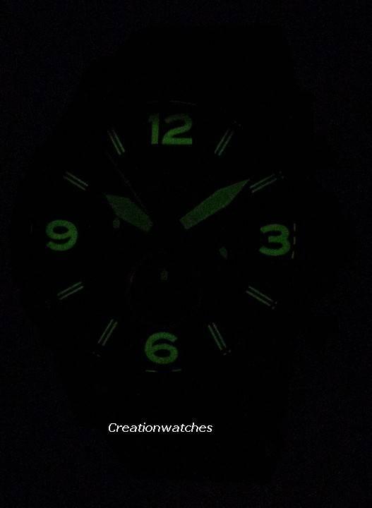 7a4f0baec38d Fossil Nate cronógrafo marrón cuero JR1487 reloj para hombre