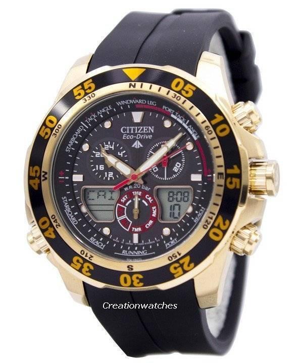 e492deb792e Citizen Eco-Drive Promaster Chronograph World Time JR4046-03E JR4046 Men s  Watch