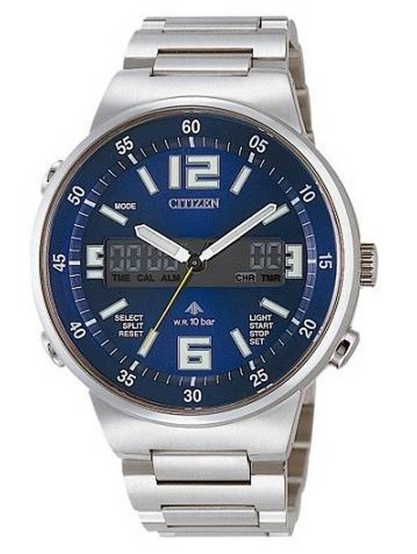 62e4f1a2563 Relógio Citizen Promaster alarme Ana-Digi cronógrafo JT3000 - 59L JT3000-59  homens
