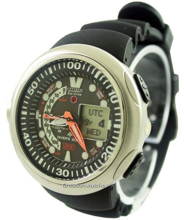 c5553c940718 Reloj para hombre JV0007-02E Citizen Promaster Aqualand Eco-Drive Diver s