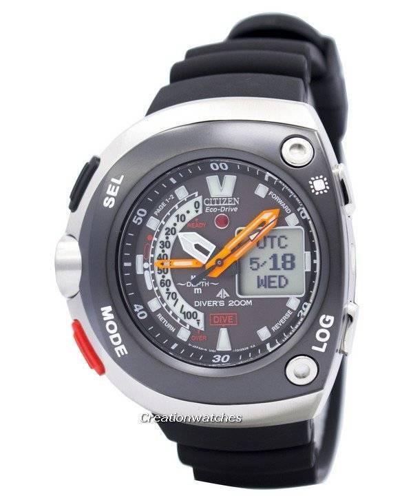 8b37b0fde0f7 Reloj de hombre Citizen Diver Depth Meter Promaster Cyber Aqualand  JV0020-04E