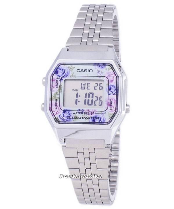 Casio νεολαίας Vintage Illuminator Quartz ψηφιακό LA680WA - 2C γυναικείο  ρολόι 0d85fa3fd07