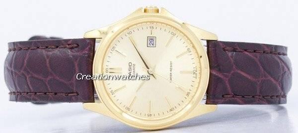 8d9ec0b20d29 Reloj Casio cuarzo analógico LTP 1183Q-9A de la mujer es