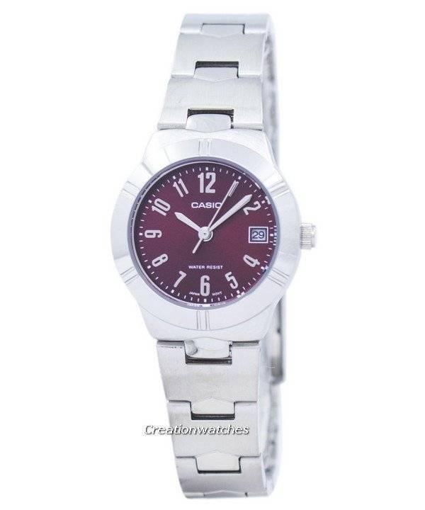 a06c607c131f Reloj Casio cuarzo analógico LTP-1241D-4A2 de la mujer es